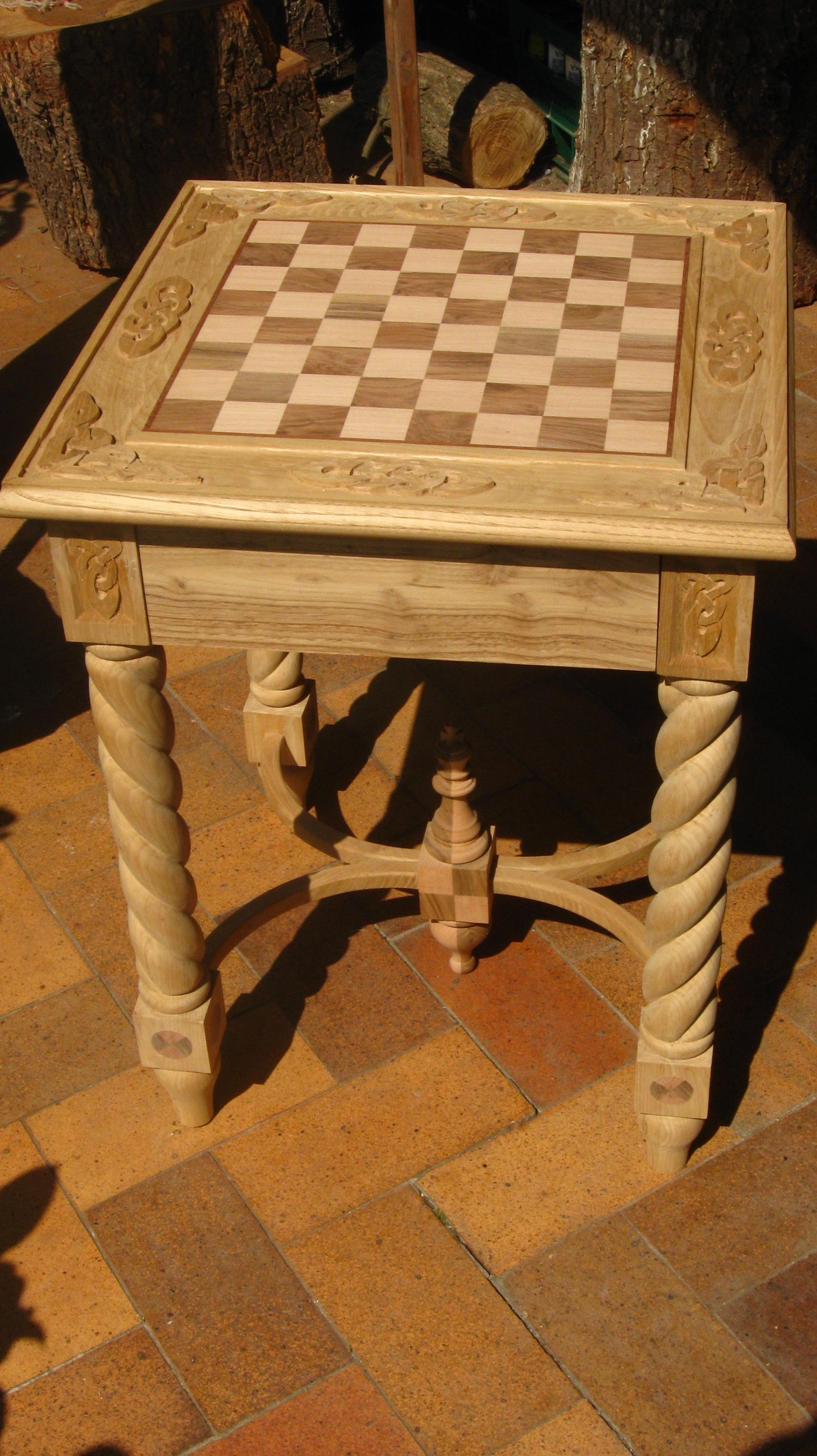 Muebles Artesanales De Madera Finest Taburete Elaborado Con  # Muebles Hechos Con Piques