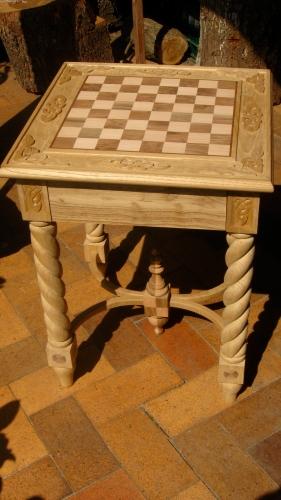Vista general de la mesa